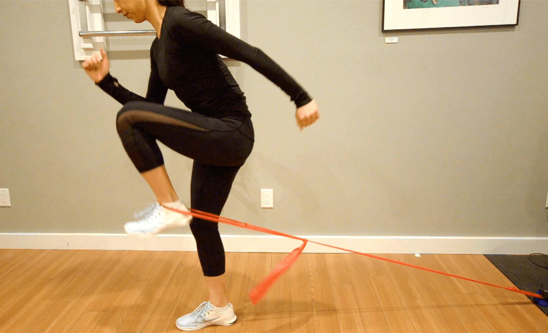 Hip Flexor Strain Running Rehab Knee Highs Insync