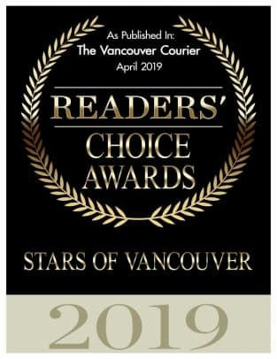 Stars of Vancouver Readers Choice InSync Physiotherapy 2019